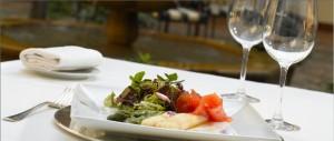 Parador Granada dining