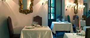 Parador Granada dining room